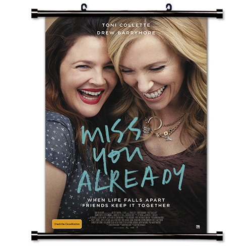Miss You Already 2015 Movie Fabric Wall Scroll Poster (32x46) Inches