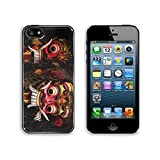 Liili Premium Apple iPhone 5 iphone 5S Aluminum Backplate Bumper Snap Case IMAGE ID 15032865 a closeup of colorful traditional balinese masks