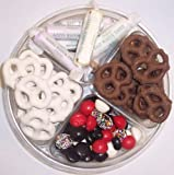 Scott's Cakes 4-Pack Chocolate Pretzels, Yogurt Pretzels, Salt Water Taffy, & Licorice Mix