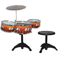GADGET WALL Kids Jazz Drum with Stand and Seat