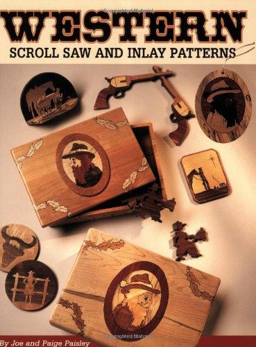 Inlay Scroll (Western Scroll Saw & Inlay Patterns)
