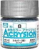 水性カラー アクリジョン シルバー N8