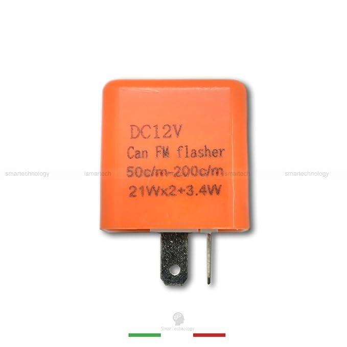 Schema Elettrico Frecce Auto : RelÈ 12v con regolatore frequenza lampeggio frecce led indicatori di