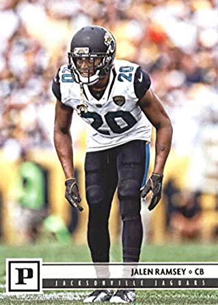 2018 Panini NFL Football  134 Jalen Ramsey Jacksonville Jaguars Official  Trading Card ed876ef43