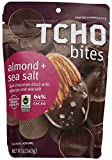 TCHO Bites Dark Chocolate Almond + Sea Salt, 5 oz