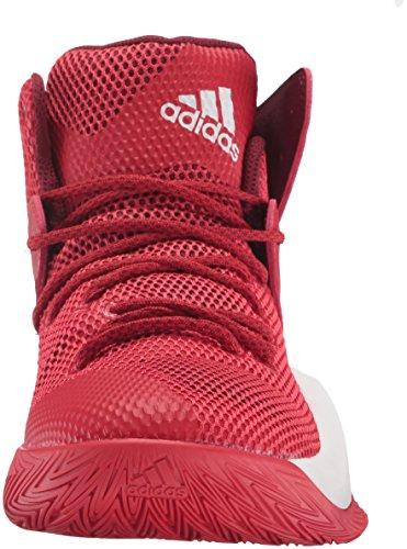 adidas Performance Herren Crazy Bounce Basketballschuh Scharlachrot / Weiß / Kardinal