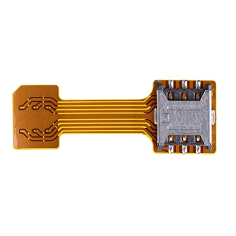 JERKKY Hybrid Doble Tarjeta SIM Dual Adaptador Micro SD para Android Phone Extender Nano Mic Nano a Nano