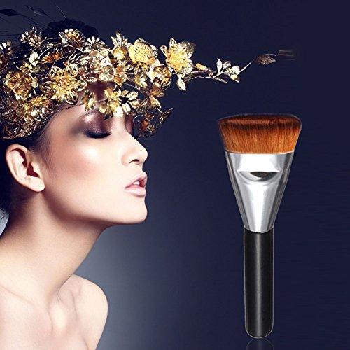 Chinatera Pro Colors Contour Face Cream Makeup Concealer Palette 163 Flat Brush (Flat Brush)