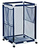 Kids Storage Rolling Bins - Great For Gym, Playroom or Pool (Large) by Rockwater