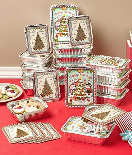 Holiday Oreo Cookie Tins - 24 Holiday Goodie Containers Holiday Christmas Décor