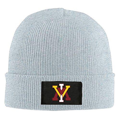 UglyBee Unisex Virginia Military Institute Logo Knitted Wool Beanie Skull Caps