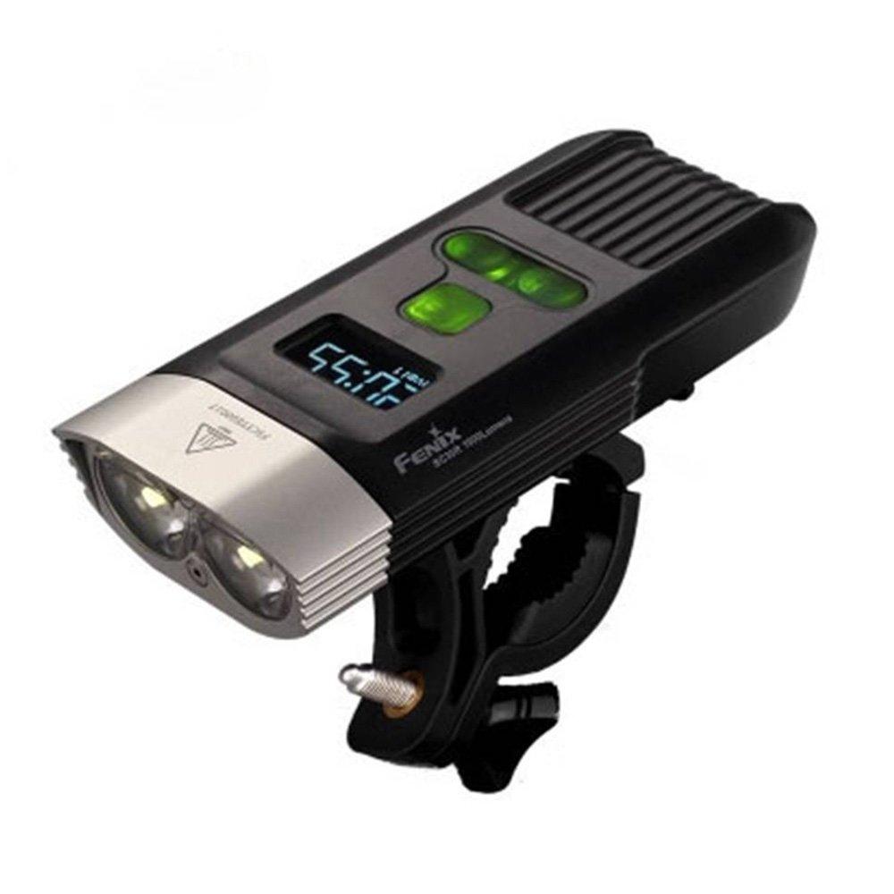 Fenix BC30R USB rechargeable bike light 1600 lumens OLED display screen 5200mah battery