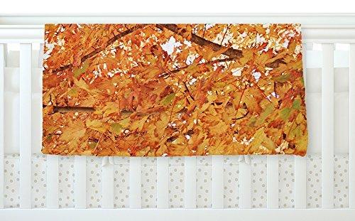KESS InHouse Sylvia Coomes Fall Folioge Orange Yellow Fleece Baby Blanket 40 x 30 [並行輸入品]   B0785N3MMH