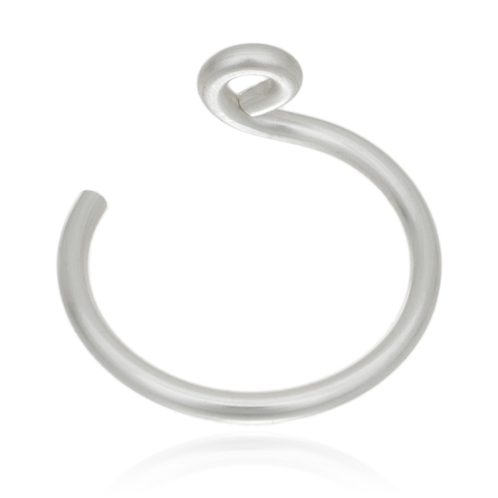 Faux Nose Ring - Silver