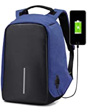 OZSTOCK® Anti-Theft Laptop Backpack Travel Bag Water Repellent w/USB Port Travel Busines