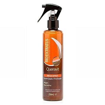 Linha Queravit (Tratamento Instantaneo) Bio Extratus - Mega Spray Cauterizacao e Finalizacao 250 Ml
