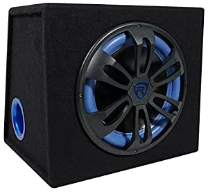 amazon com rockville rvb12 1a 12 inch 500w active powered car subwoofers product share facebook twitter pinterest