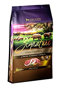 Zignature 12713162 Pork Formula Dry Dog Food, 27 lb chic