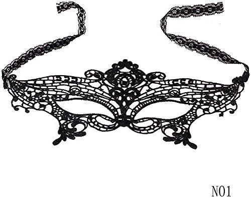 Mascarada Máscara de bola negra Máscara de encaje Catwoman ...