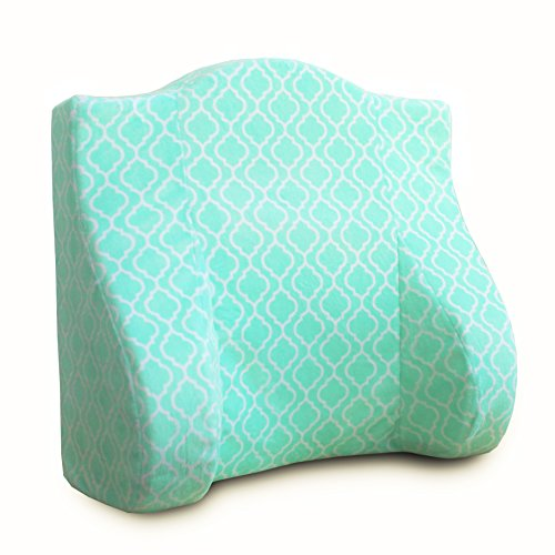 Back Buddy Maternity Pillow for Nursing Breastfeeding Postpartum and Back Support Helps Relieve Lower Back Pain - Minky Jade