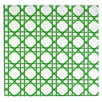 Design Imports India Tropical Caning Print Napkins (Set of 4)