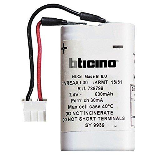 Batterie Per Lampade Di Emergenza.Batteria Di Ricambio Per Lampada Di Emergenza Bticino L4384