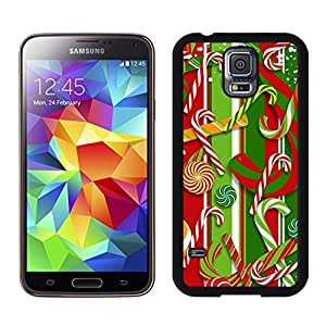 S5 Case,Christmas Red Green Decoration TPU Black Case For Galaxy S5,Samsung Galaxy S5 I9600 Protective