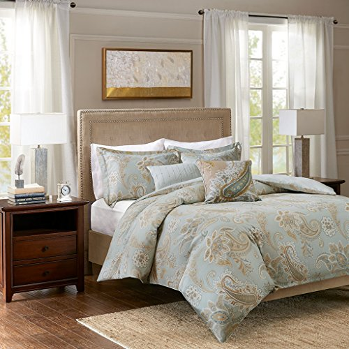 Sienna Cotton Printed 5 Piece Duvet Cover Set Multi King/Cal King - Sienna Duvet Cover