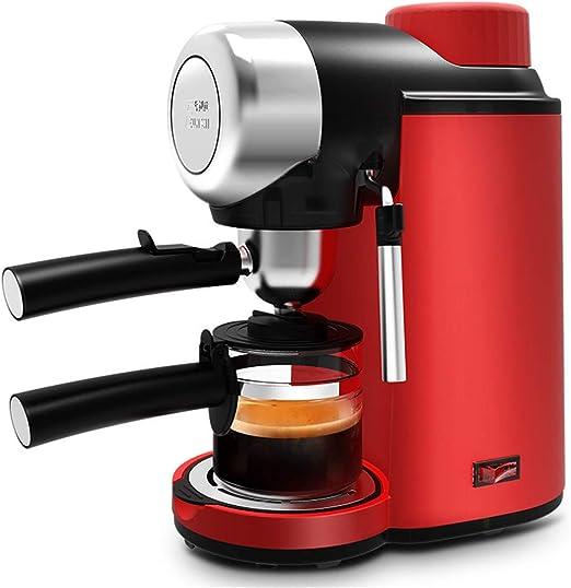 YSCCSY Cafetera Espresso Cafetera Eléctrica Semi-Automática ...