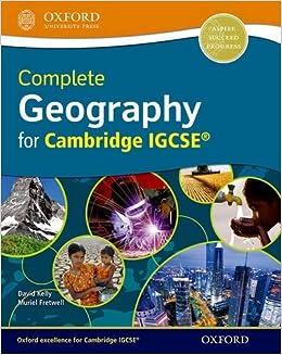 igcse geography textbook