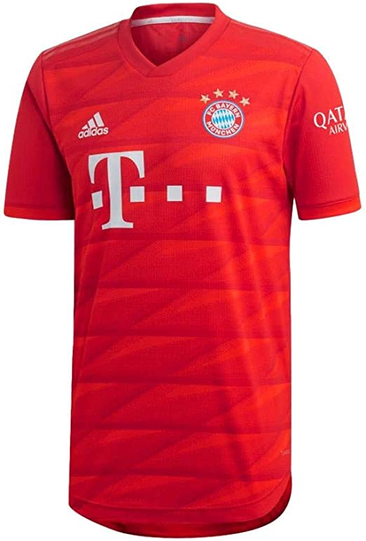 Amazon Com Adidas 2019 2020 Fc Bayern Munich Authentic Home Jersey Clothing