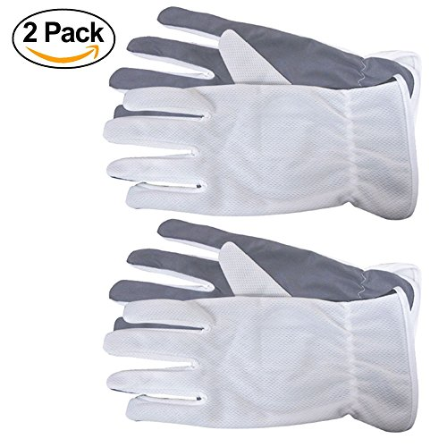 Microfiber Lens & Eyeglass Cleaner Gloves for Sunglasses, Camera, Laptops, Dusting for Fingerprints, -2 Pair- By OptiPlix