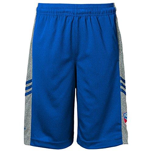 MLS FC Dallas Climalite Boys Shorts, Large, Blue
