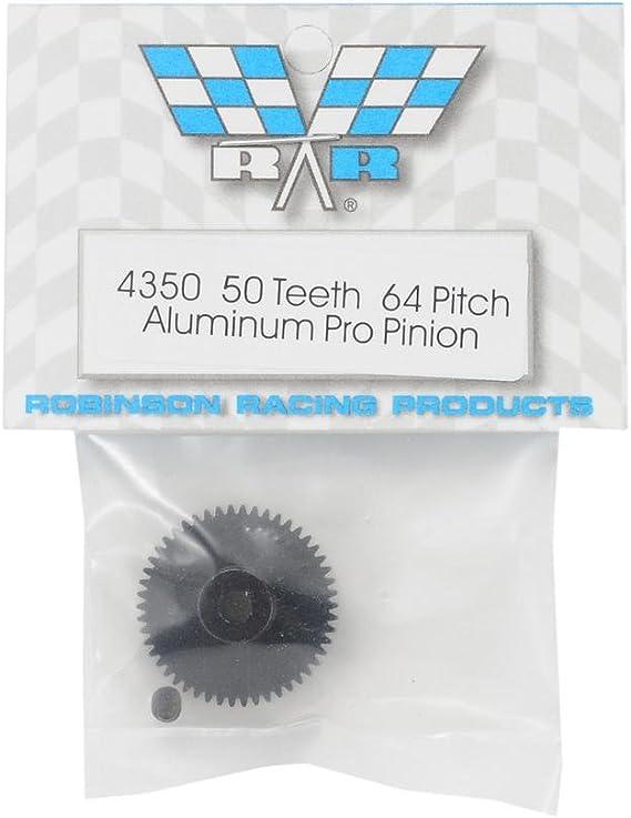 Robinson Racing Pinion Gear Hard Aluminum 64P 50T 4350