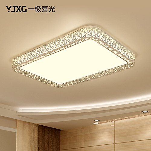 BGmdjcf Led Ceiling Light Square ,30W No Polarity (5050Cm) Applicable 8--18 U Space