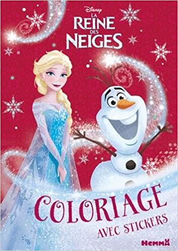 disney la reine des neiges coloriage avec stickers nol - Telecharger La Reine Des Neiges