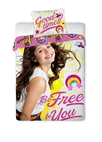Soy Luna Duvet Cover 160 X 200 Cm And Pillowcase 70 X 80 Cm 100