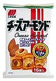 Sanko Cheese Almond Rice Cracker 16sheets x 12packs Japanese Poplar Snack