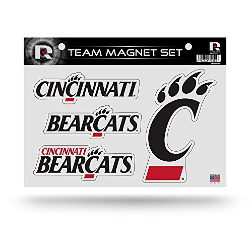 Rico Industries NCAA Cincinnati Bearcats Die Cut Team Magnet Set Sheet