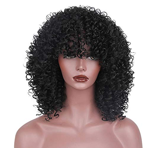 Curly Wig Fashion Girl Replacement Wig Heat Resistant for sale  Delivered anywhere in Canada