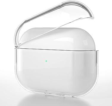 CE-Link Funda para Airpods Pro Case Cover Protective Carcasa Cápsula Estuche PC Material Cáscara Auriculares Accesorios Prevenir Arañazos A Prueba de Polvo Prueba de arañazos para Airpod Pro 2019: Amazon.es: Electrónica