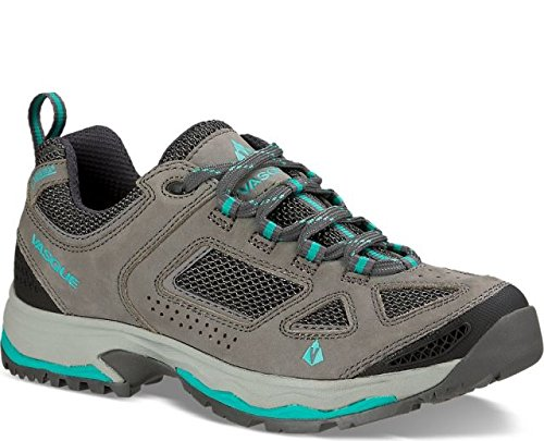 (Vasque Women's 7197 Breeze III Low GTX Hiking Boots (Gargoyle/Columbia, 8 M US))