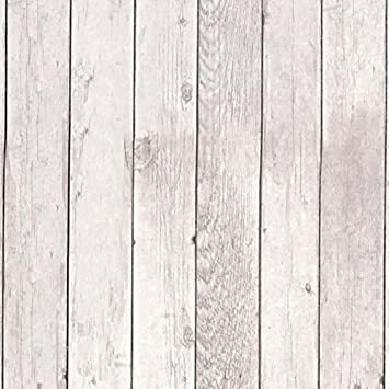 197inx17 7in White Wood Peel And Stick Wallpaper Wood Contact Paper Wall Paper Decorative Removable Wallpaper Wood Plank Self Adhesive Wall Covering Wood Faux Distressed Wood Grain Shiplap Vinyl Roll Amazon Com