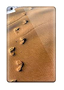 Beach Women Footprints Case Compatible With Ipad Mini/mini 2/ Hot Protection Case