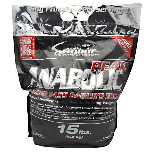 Inner Armour Anabolic-Peak Gainer Vanilla 15 lbs. (6.8 kg)