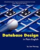 Database Design in Plain English, Joe Herzog, 1419670271
