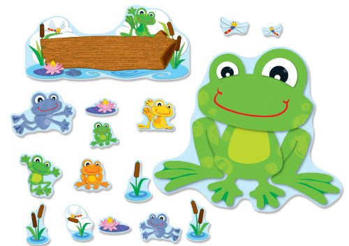 frogs bulletin board set