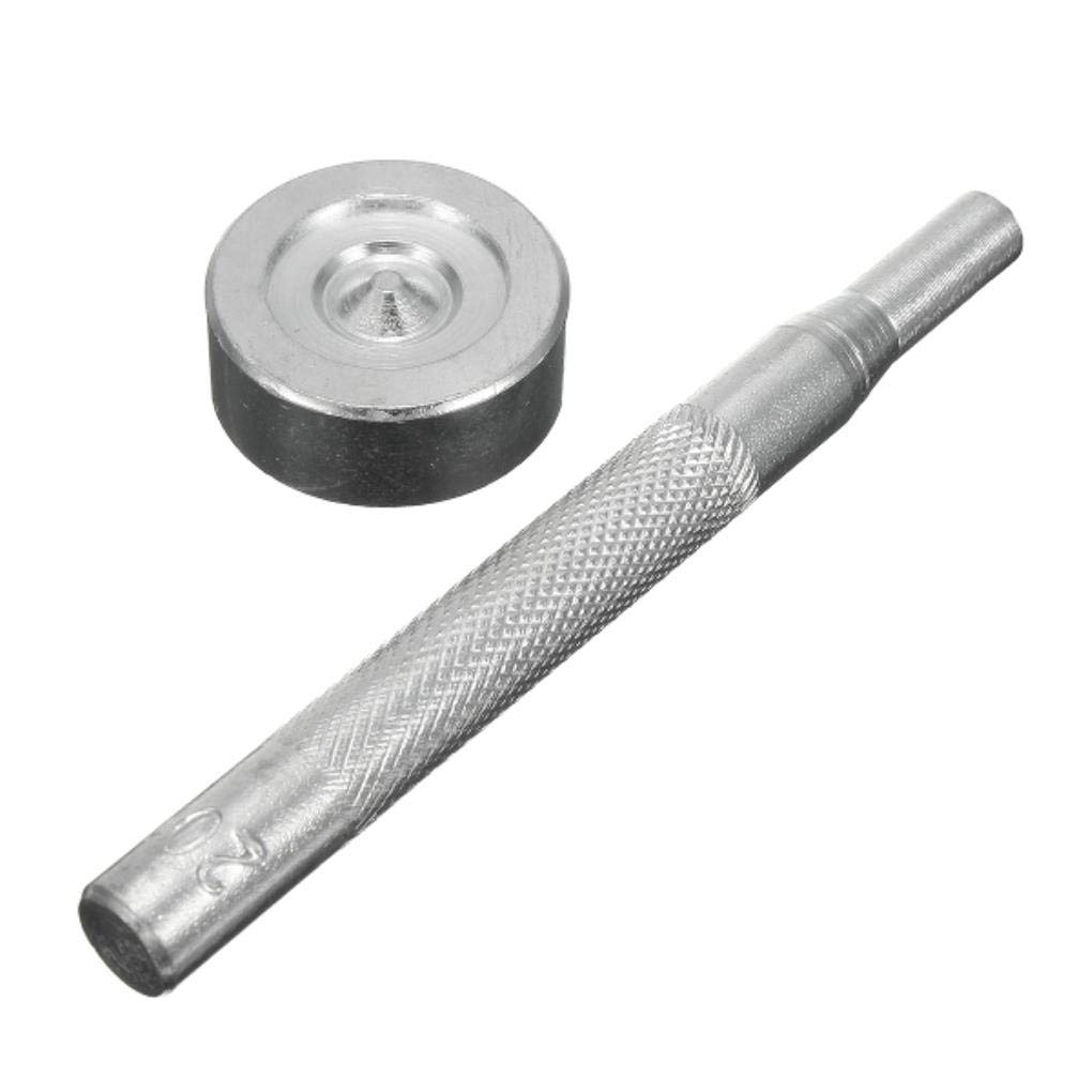 Yongse 20Set Acier Inoxydable 5//8 Pouces Couverture de Bateau Raccords de Fixation de Capote Kit de Fixation avec Outils