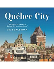 Québec City 2022 Calendar: Gifts for Friends and Family with 12-month Monthly Calendar in 8.5x8.5 inch