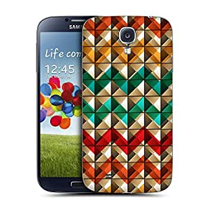 Head Case Designs Chevron Studs and Patterns Replacement Battery Back Cover for Samsung Galaxy S4 I9500